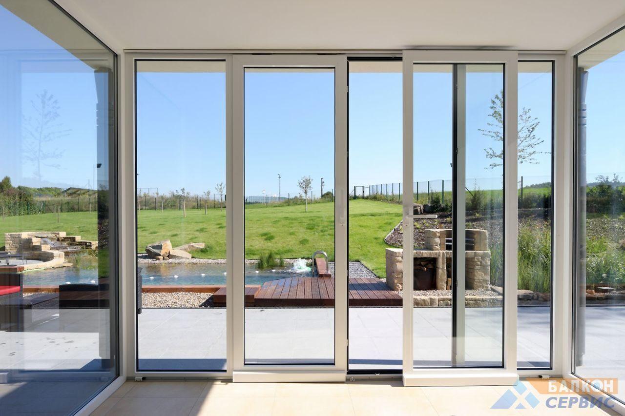 Дешевые раздвижные окна на балкон.